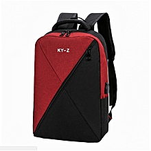 2638c55e937 Laptop Backpack,Anti Theft Bag With USB Charging Port For Men  amp  Women,