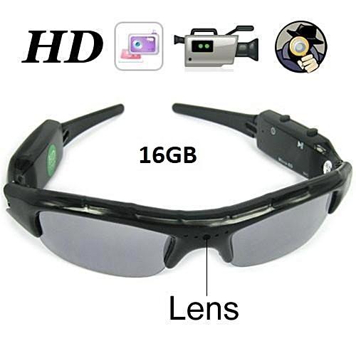 16GB Mini Glasses Sunglasses Hidden Camera Video Recorder 720x480 LBQ