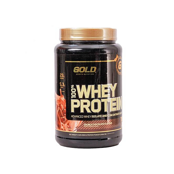 100% Whey Protein Isolate (Double Chocolate 908g / 2lb)