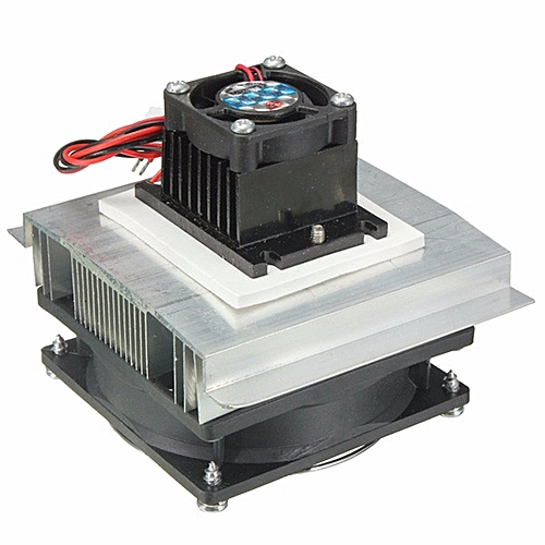 TEC-12706 Thermoelectric Peltier Refrigeration Cooling System Kit Cooler Fan NEW