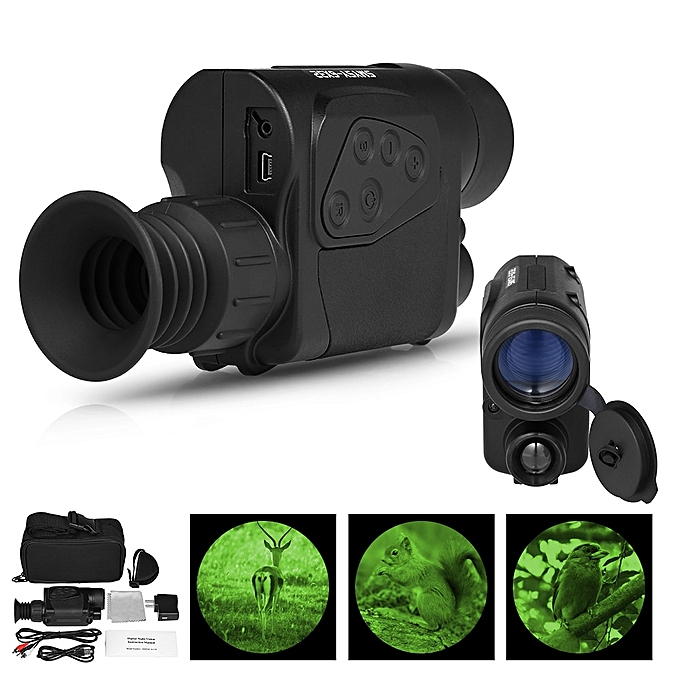 Generic Infrared Monocular Telescope Digital Camera & Video Recorder