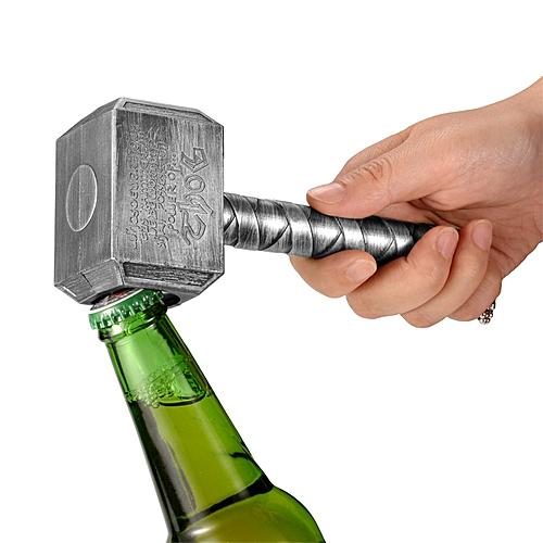 Multifunction Hammer Of Thor Shaped Beer Bottle Opener