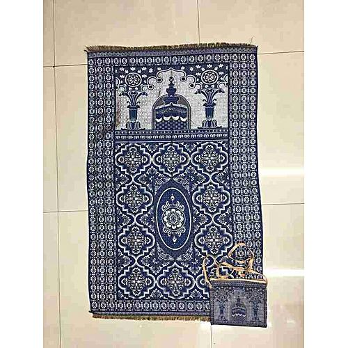 Muslim Prayer Mat With Bag For Travel Bag Prayer Mat ,Islam Prayer Rug With Bag Sets HGV-031