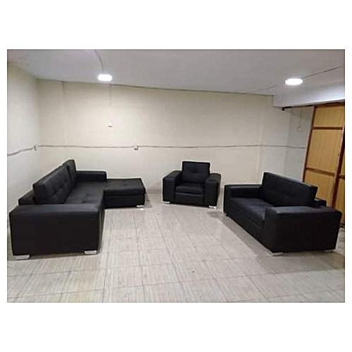 Dubai L-shape+ 3+1 Seater Sectional Sofa-Free Lagos Delivery