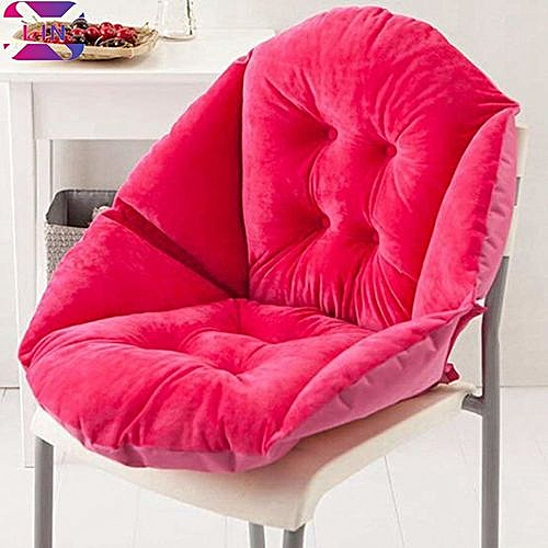 Soft Seat Cushion Back Cushion Surrounded By Lovely Office Chair Shell Cushion--RED