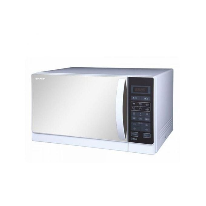 sharp r861slm. 25l grill microwave oven r-75mt(s) sharp r861slm