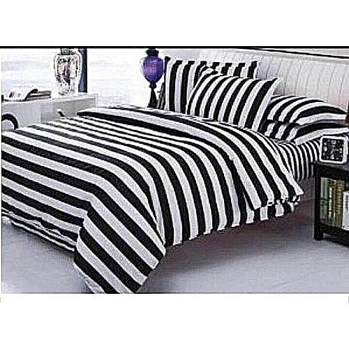 White & Black Duvet Set