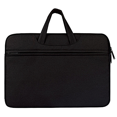 Breathable Wear-resistant Shoulder Handheld Zipper Laptop Bag, For 11.6 Inch And Belowbook, Samsung, Lenovo, Sony, DELL Alienware, CHUWI, ASUS, HP (Black)