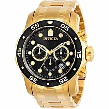5d7969121 Men's Pro Diver Quartz Chronograph Black Dial Watch - 0072