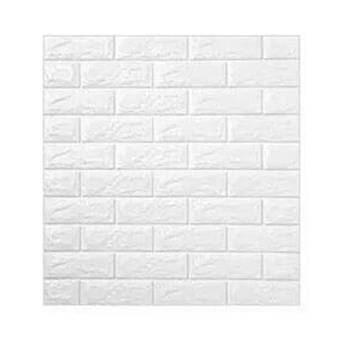 Waterproof Foam 3D Brick Wall Stickers Home Decor DIY Self Adhesive Wallpaper 70x78CM