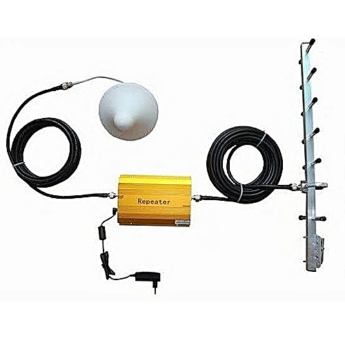 GSM 900HMZ Mobile Phone Signal Booster Repeated Amplifier + Yagi Antenna