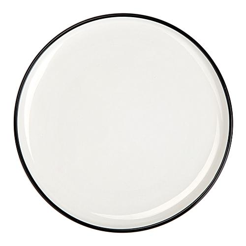 Dinner Plates Set Dinnerware White Size 10-inch 4 Pack