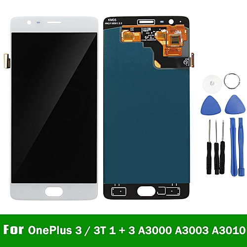 LCD Touch Screen Digitizer Assembly + Tool For OnePlus 3 Three A3000 A3003 A3010