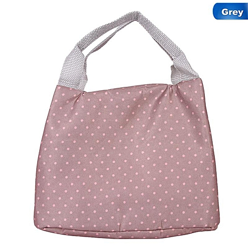 Insulated Canvas Lunch Bag Thermal Food Travel Picnic Lunch Bags Cooler Lunch Box Tote