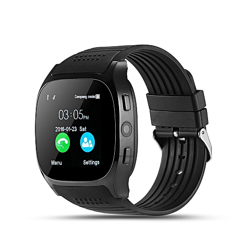 Generic Bluetooth Smart Watch With Camera Facebook Whatsapp T8 Support SIM TF Card Call Smartwatch For Android Phone
