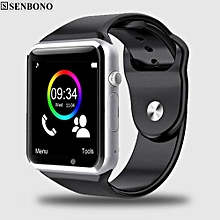 Bluetooth Smart Watch W8 A1 With TF SIM Card Camera WristWatch For IOS Iphone