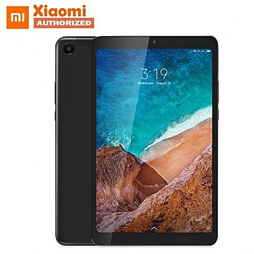 "Mi Pad 4 - 8.0"" MIUI 9 Tablet 4GB RAM+64GB EMMC ROM - Black"