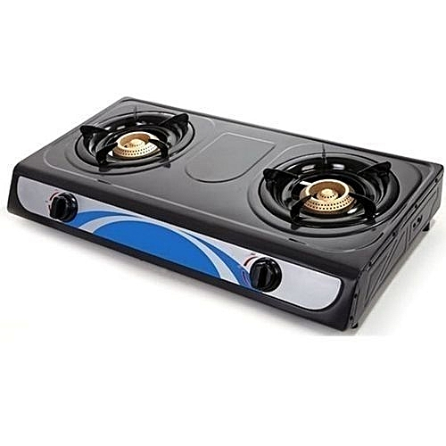 Kitchen (Automatic Lighter)Tabletop 2-Burner Gas Cooker