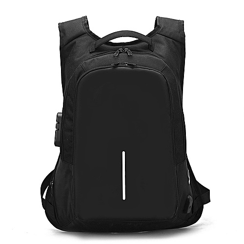 "Laptop Backpack,Anti Theft Bag With USB Charging Port For Men & Women, Smart Bag, Water Resistant Backpack School Bag, Large Capacity Business Backpack Fits UNDER 18"" Laptop & Notebook - Black"
