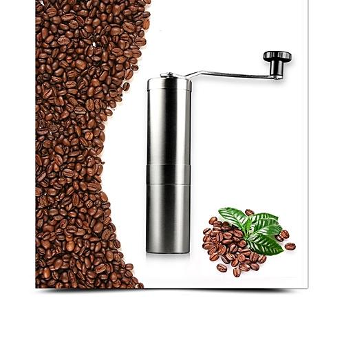 JIQI Manual Coffee Grinder Coffee Beans Grinding Maker Machine Pulverizer