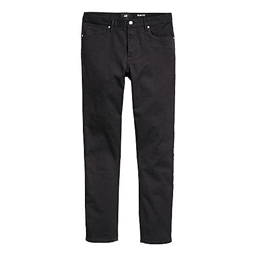 Slim Fit Trouser - Black