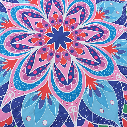 Generic Printing Hippie Tapestry Beach Picnic Throw Yoga Mat Towel Blanket