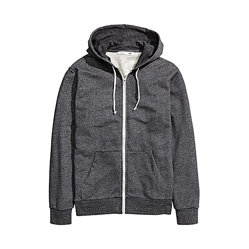 Hooded Sweatshirt - Dark Grey