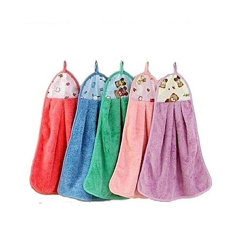 Colourful Patterned Kitchen Napkin Towels - Set Of 6