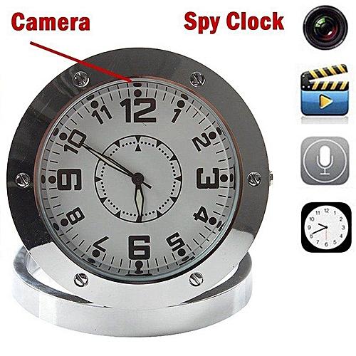 HD Video Hidden Camera Table Alarm Clock Sound / Video Recorder Camera