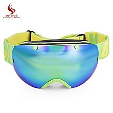 32d0add5c76 GREEN-BENICE SNOW - 2300 Unisex Spherical Anti-fog Lens Snowboarding Skiing  Goggles Climbing