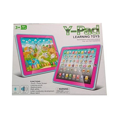 Y Pad Kids Educational IPad / Learning Toy / Learning Machine For Children 3+