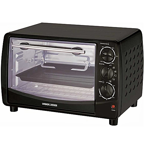 28 Liter Toaster Oven With Rotisserie, Black - TRO50-B5