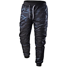 39af83a65f6 Featured Men Spring Casual Patchwork Camouflage Pants Sweatpants