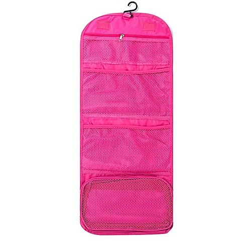 Fold Wash Makeup Bag Hanging Cosmetic Travel