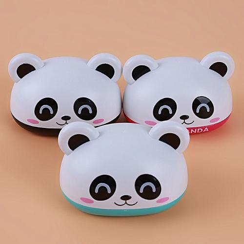 Cartoon Panda Home Bathroom Waterproof Plastic Soap Box