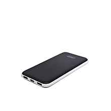 Power Bank 12000mAh, Dual Port Power Bank VP-1010 - Black