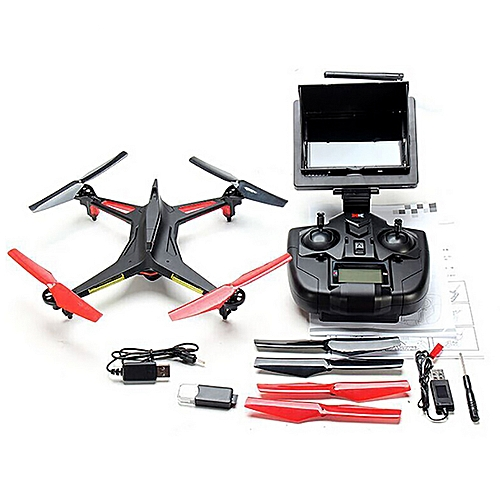 XK X250 4CH 6-Axis Gyro 5.8G 2MP Camera FPV Air Pressure Hovering Set High RC Quadcopter RTF (Mode 2 Left Throttle)