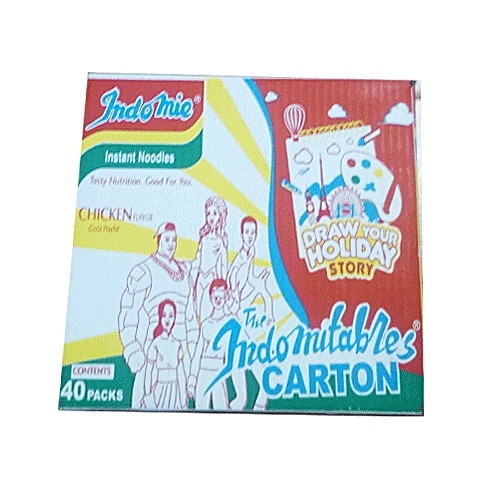 Chicken Flavour Instant Noodles - 40 Packs X 70g