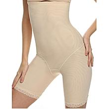 cfcbbb68bd549 Butt Lifter Panty Slim Waist Lace Hem Lift Underwear-Nude