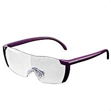 91da43e9bd9 1.6X Magnifying Reading Glasses Plastic Flame Unisex Eyewear Magnifier  Purple