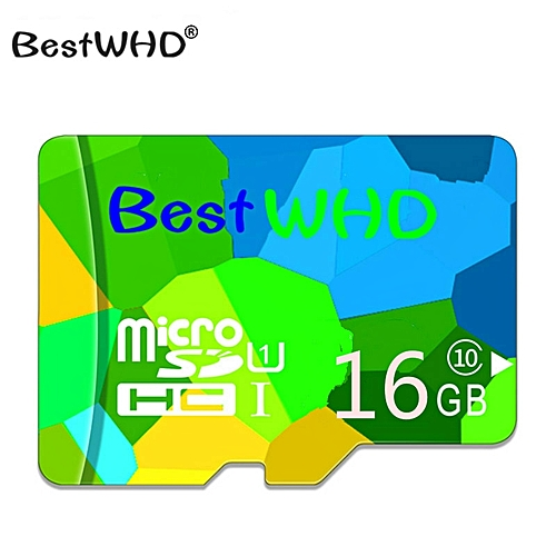 BestWHD Memory Card 16GB TF Card Class 10 Micro SD Card