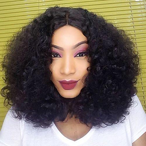 Lustrous Bouncy Curly Hair - 6 Bundles For Full Hair