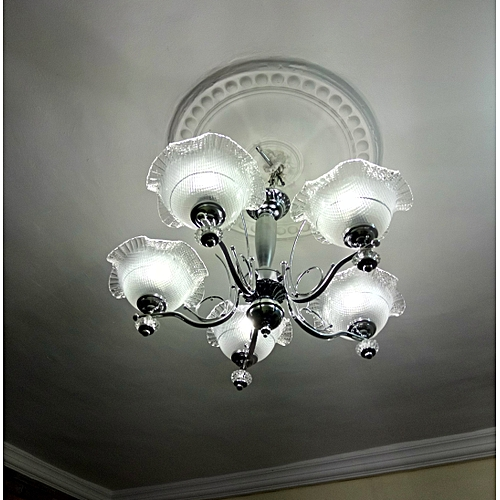 Chandelier Light - Silver
