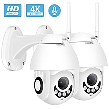 1080P Wifi IP Camera Outdoor Two Way Audio PTZ 5X Optical Zoom Night Vision IR 60M Wireless Security Speed Dome Camera P2P(1 X 1080P Add 32G SD) for sale  Nigeria