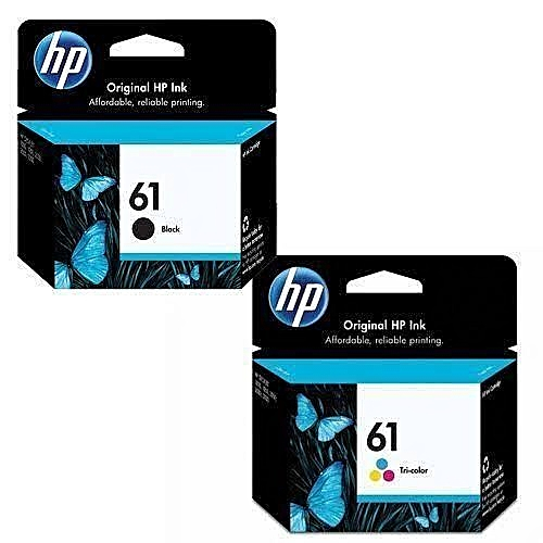 61 Ink Cartridge Black And Colour All In One Shipping
