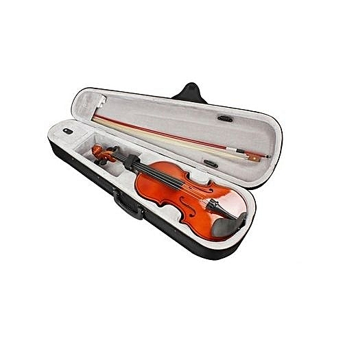 Violin-4/4 With Case Bow And Manual