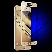Full 3D Tempered Glass Screen Protector For Samsung Galaxy J7 Prime - Gold