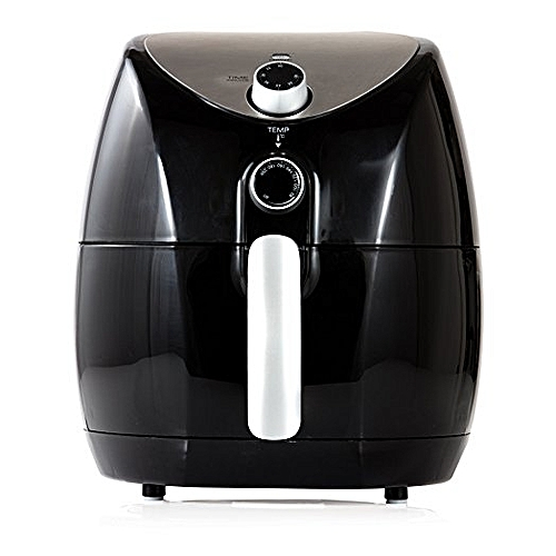 Air Fryer With 60 Minute Timer, 1500 W, 4.3 Litre, Black