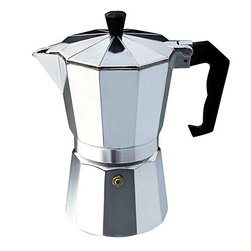 Aluminium Moka Pot Octangle Coffee Maker For Mocha Italian