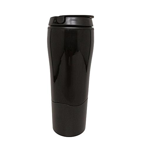 Tumbler Mighty Sucker Mug Water Bottle Bottom With Sucker For Office Home*Black